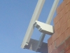 saillie de toit chantournée